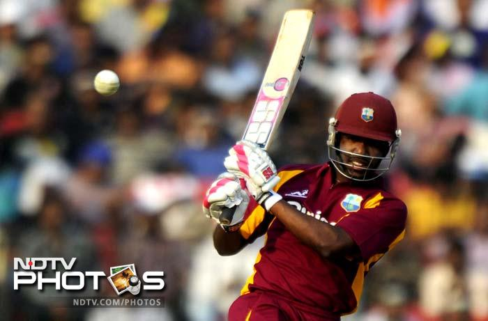 Darren Bravo played some exquisite shots during his knock that helped the visitors go past 200.