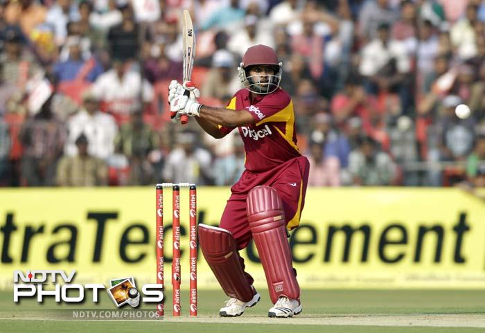 Adrian Barath opened with good shots, hitting 3 boundaries before his dismissal.