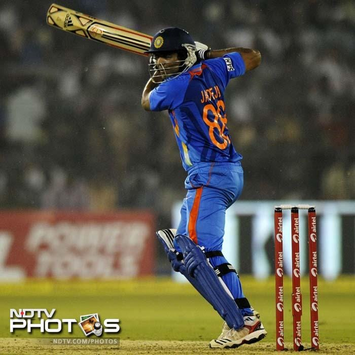 Rohit Sharma was well supported by Ravindra Jadeja who played a patient knock of 38 off 62 and added 83 runs for the 6th wicket to revive India.