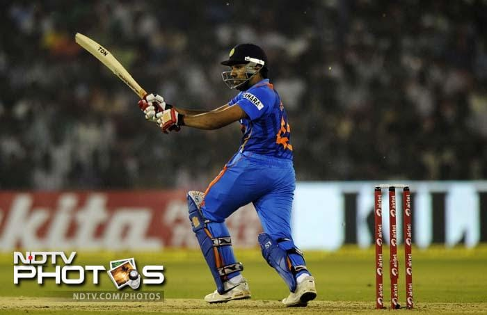 It was Rohit Sharma's first international match since being forced out of action due to a finger injury in the ODI series in England.