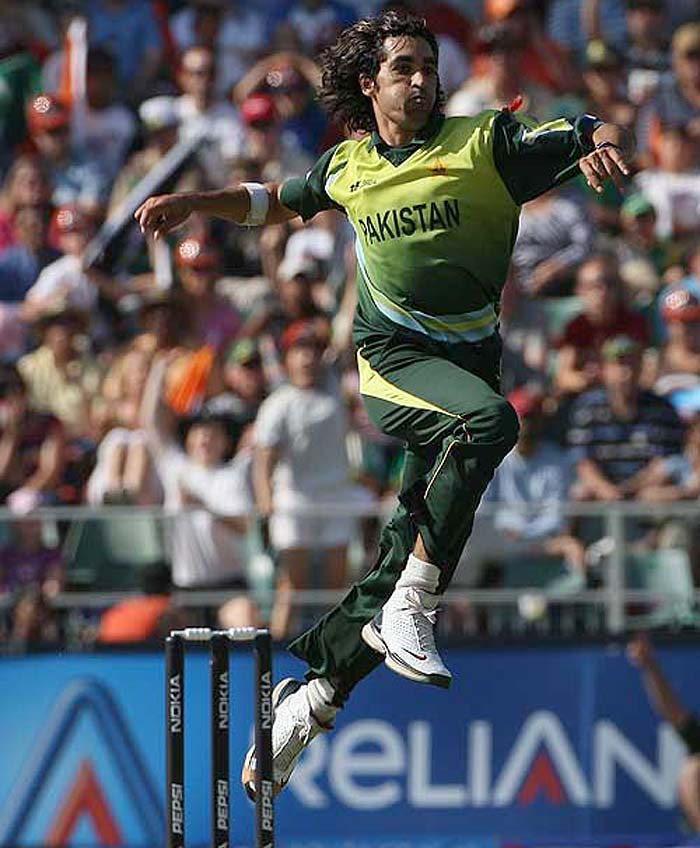 Umar Gul held the record before Mendis. He returned with figures of 5 for 6 against a tattered New Zealand at the Oval in 2009.