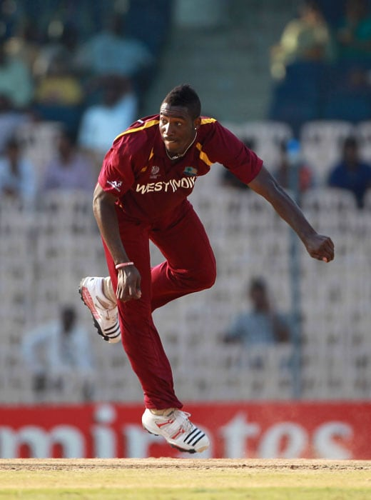 Russell also did well with the ball, getting the team early breakthroughs, including the English openers, and finished with 4 wickets. (Getty Images)