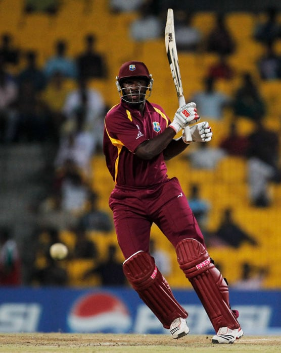 Fortune continued to swing between the two teams as Andre Russell came good with the bat to make 49 off 46 balls. (Getty Images)