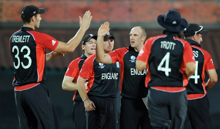England continued to make a thriller out of every match as they beat the West Indies by only 18 runs in Chennai. (AFP Photo)