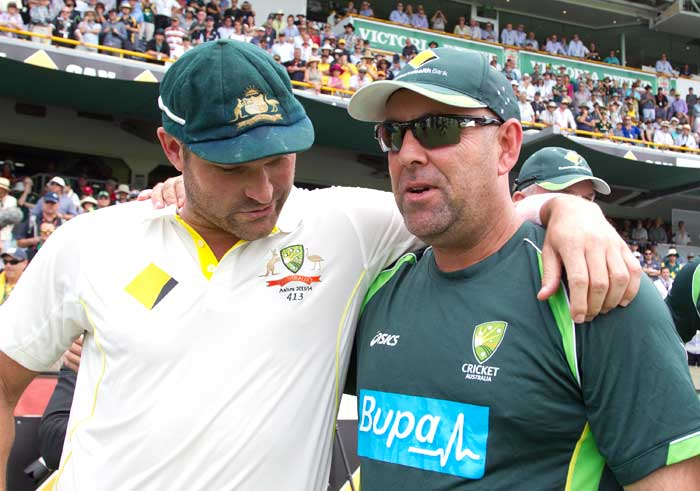 Darren Lehmann has to take a lot of plaudits for the Aussie turnaround. Both Michael Clarke and former great Adam Gilchrist caid 'Buff' was a great source of inspiration.