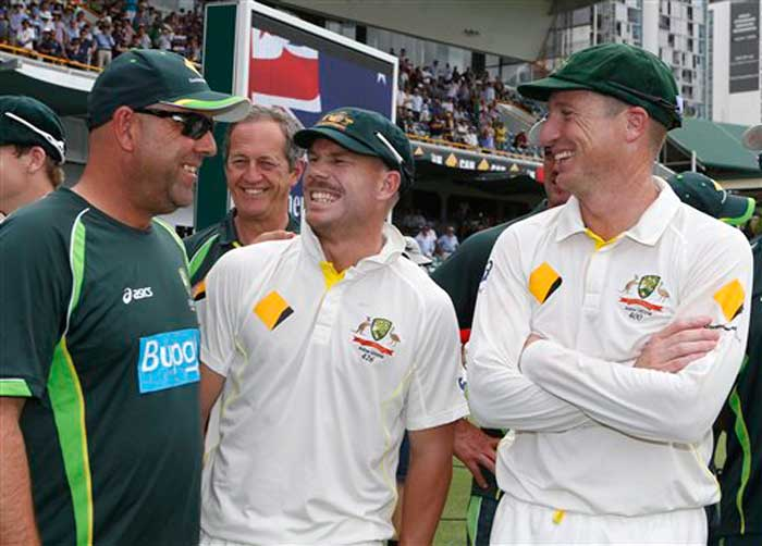 Its seems Lehmann has transformed David Warner as well - on and off the field!