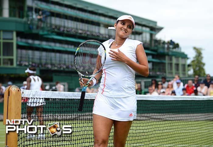 There was more good news for Sania as she got official confirmation that she had received a wild card to play in the women's doubles at the Olympics.