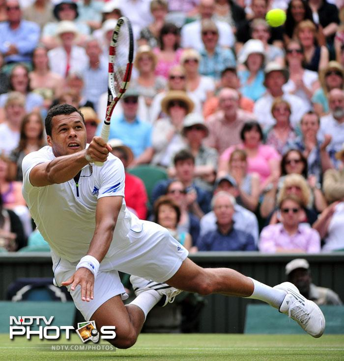Ranked seventh in the world (as of now), the Frenchman has all it takes to be at the top. He will just need to channelise his energies and bring out the aggression when required the most. His quarter-final victory in Wimbledon 2011 over Roger Federer stands him in good stead but when will he break that barrier to lift the trophy remains to be seen. (AFP Photo)