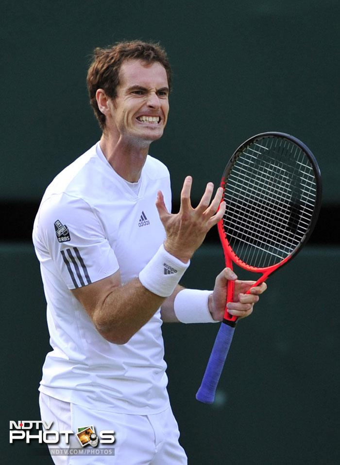 Andy Murray pulled off a dramatic comeback from two sets down to beat Fernando Verdasco in the Wimbledon quarter-finals and keep up home hopes of a first British champion since 1936.