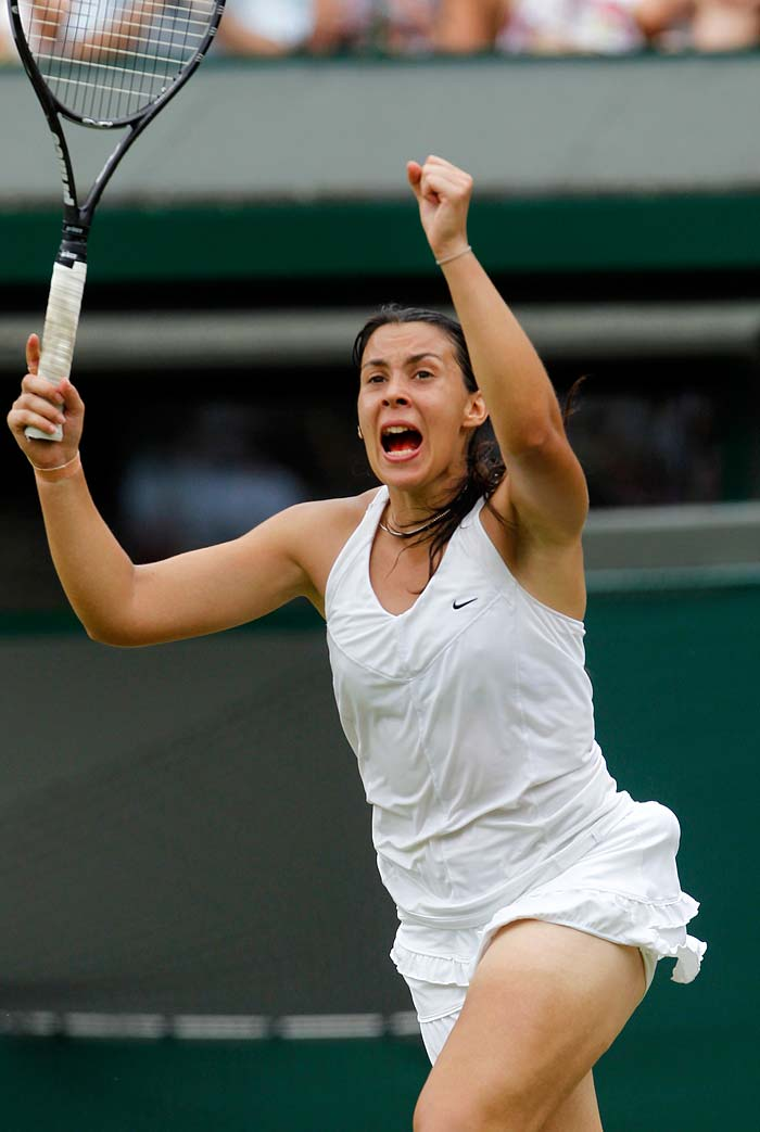 Bartoli served 10 aces in the match that lasted a little over two hours and the French player wrapped the match in her favour with rather effortless ease.