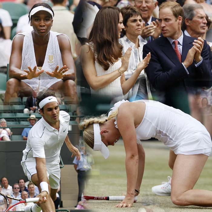Monday was a day that will best be remembered for the upsets that Wimbledon 2011 saw. The reputed likes of Woznicki, Serena and Venus were knocked out as the 'underdogs' reigned supreme. A look at the proceedings from Round 4.