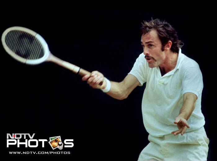 <b>John Newcombe</b><br><br>Probably the bookmakers favourite at the Wimbledon because of the see-saw battles in the 1970 and 1971 finals, John Newcombe clinched the Wimbledon title in grueling 5-set encounters. His two triumphs had come after losing out to Rod Laver in the 1969 final.