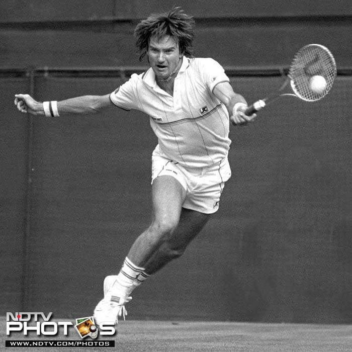 <b>Jimmy Connors</b><br><br> Jimmy Connors was one of the most consistent players at the Wimbledon, reaching 6 finals in his career. The American however, ran into greats like Bjorn Borg and John McEnroe who won multiple titles at the Wimbledon, allowing Connors to win just two titles in 1974 and 1982.