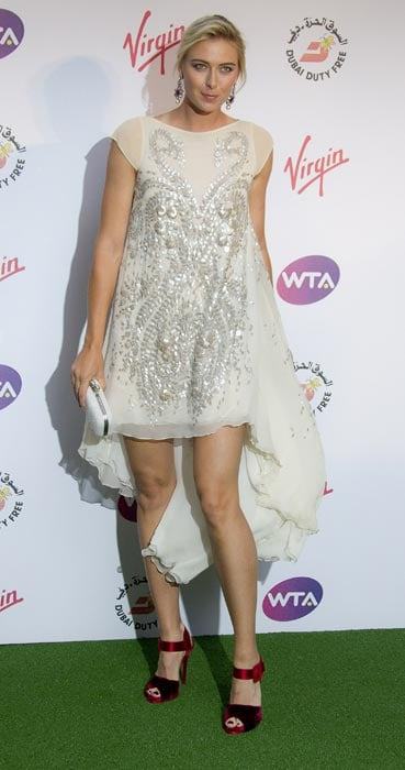 Maria Sharapova, who recently won the French Open, regained the world number spot and is one of the favourites to win the Wimbledon. (AP Photo)
