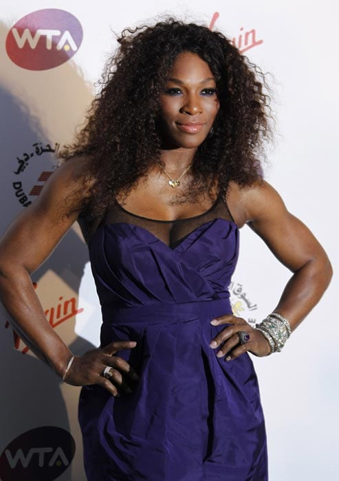 Serena Williams also arrived for the Pre-Wimbledon Party. (AP Photo)