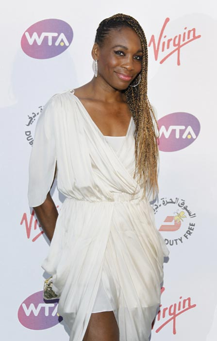 Also came her elder sister Venus Williams for the party. (AP Photo)