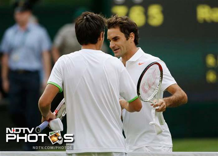 Federer's shock loss to world number 116 Stakhovsky on his Centre Court stomping ground brought the curtain down on his run of 36 consecutive Grand Slam quarter-final appearances, which started at Wimbledon 2004.