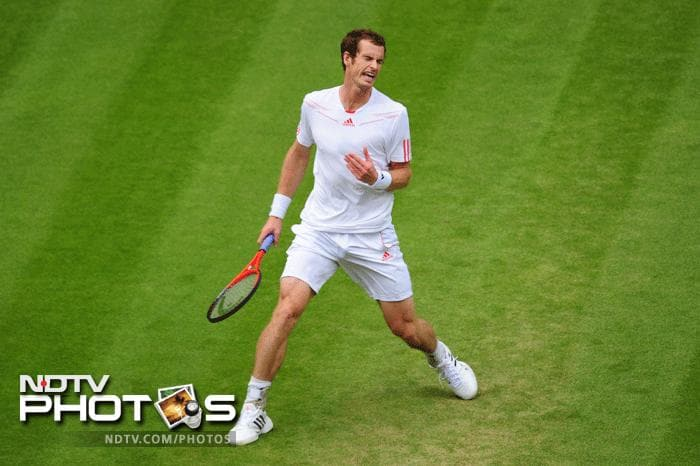 Andy Murray overcame a spirited Jo-Wilfried Tsonga giving him a place in his first Wimbledon final against six time champion Roger Federer.