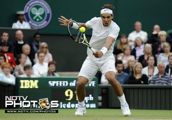 It was all too easy for World No.1 Rafael Nadal as he swept aside American Ryan Sweeting in a round 2 match.