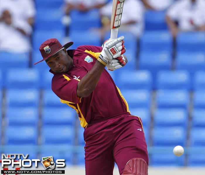 Keiron Pollard (70) and the West Indies lower-middle-order however rescued the innings and took the hosts out of murky waters.