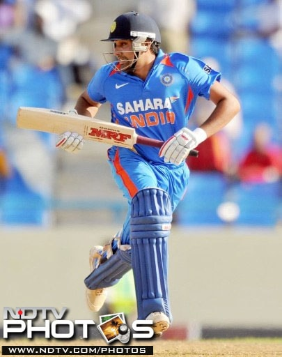 Rohit Sharma's knock of 39 off 47 balls was the top-score in the Indian innings as the lower-order too crumbled under pressure.