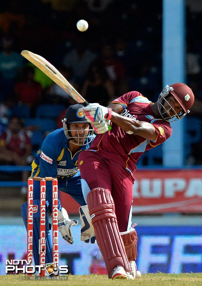 Simmons, along with Darren Bravo, put on 123 runs for the fifth wicket. Bravo scored 70 before falling during the latter stages of the match.