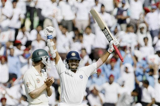 Retiring veteran Sourav Ganguly completed his 7000 Test runs, only fourth Indian to do so, and also slammed a century on the second day.
