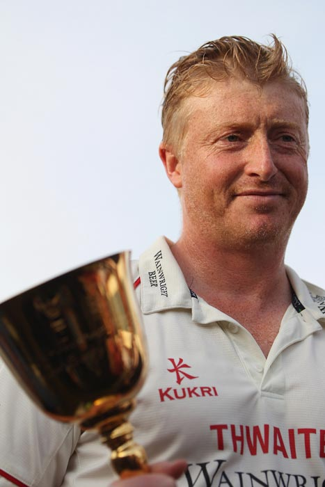 Glen Chapple: Even at 37, Glen Chapple was the heart and soul of Lancashire's first outright County Championship win in 77 years, leading his side with verve to take 55 wickets at under 20 each, and bowling heroically through injury against Somerset on a memorable final day of the season.