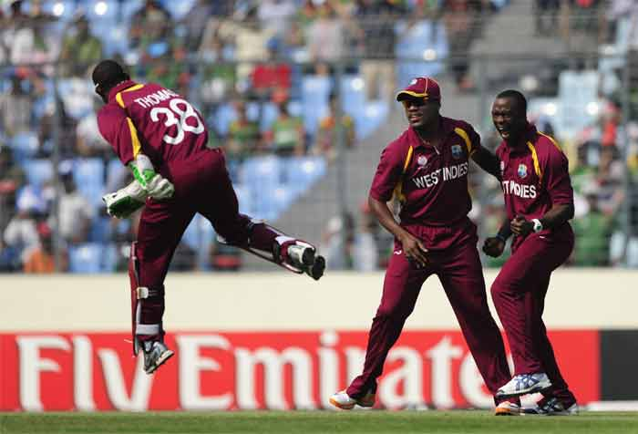 Bangladesh never seemed to gain control and were bundled out for 58 runs, the lowest total of this World Cup. West Indies knew that a target of 58 could never be threatening despite the fact that Bangladesh were playing at home. (Getty Images)