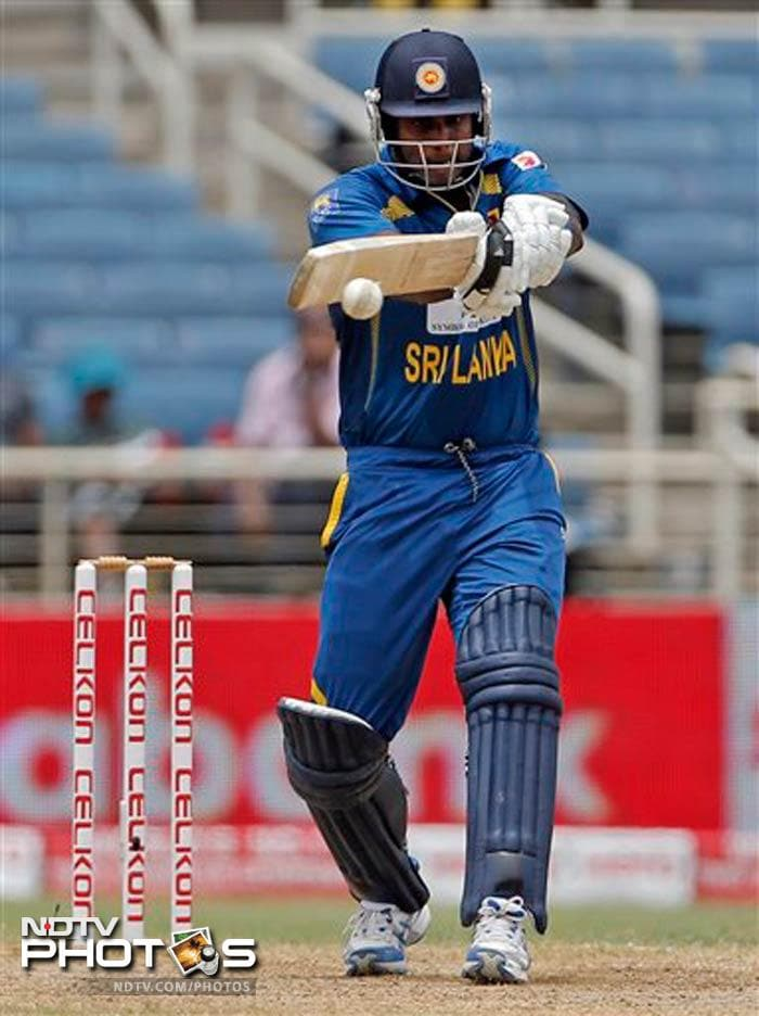 Sri Lanka skipper Angelo Mathews remained not out on 55 to ensure the visitors finish on 208 all out.