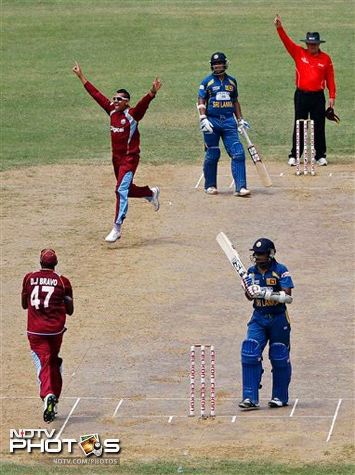 But his stay at the crease came to an end when he edged Sunil Narine to wicketkeeper Denesh Ramdin. He was out after scoring 52.