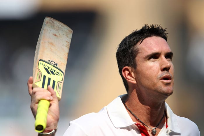 Kevin Pietersen proved to be the thorn in India's flesh smashing 186 runs with 20 boundaries and 4 sixes. He never allowed the bowlers to settle down and the hosts had no idea what hit them. (BCCI Photo)