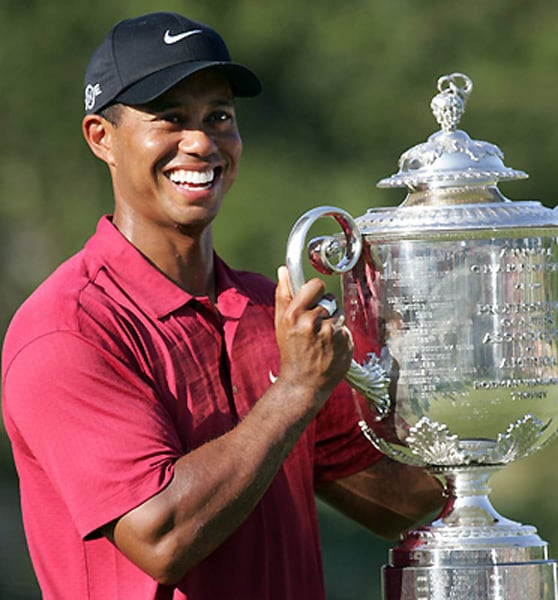 Amid these disgraceful moments, Woods got some glory too after he was named the PGA Tour player of the year for the tenth time in 13 years.<br><br>The award is voted on by the players but the PGA declined to release the details of the vote which took place over the past four weeks.<br><br>This is the eighth time that Woods has swept all the major PGA Tour awards.
