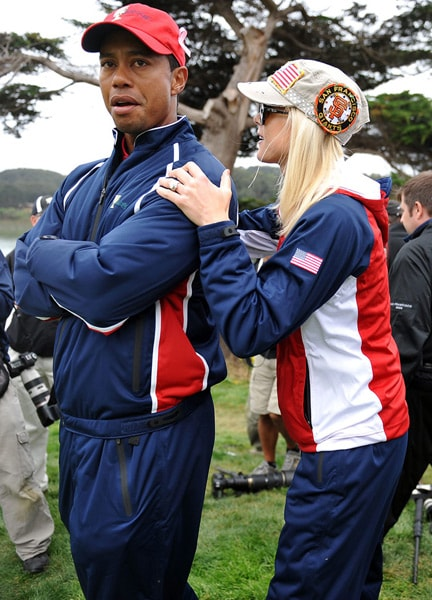 In November 2003, Woods got engaged to Elin, a former Swedish model and daughter of former minister of migration Barbro Holmberg and radio journalist Thomas Nordegren. They were introduced during The Open Championship in 2001 by Swedish golfer Jesper Parnevik. They married on October 5, 2004 and are parents of two kids, Sam and Charlie.