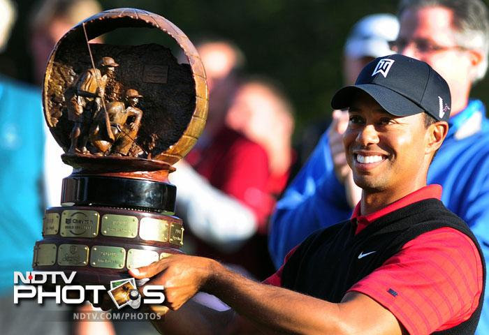 Two years after his life and career came crashing down; Tiger Woods is a winner again. It took him 749 days and 26 tournaments to finally get back to the winning ways. One shot behind with two holes to play, The 35-year-old finally looked like the player who dominated golf for so much of his career. He birdied his last two holes on Sunday, making a 6-foot putt on the 18th, to win the Chevron World Challenge by one shot over former Masters champion Zach Johnson.