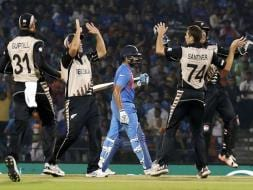 World T20: New Zealand Bring India Down to Earth, Thrash Hosts by 47 Runs