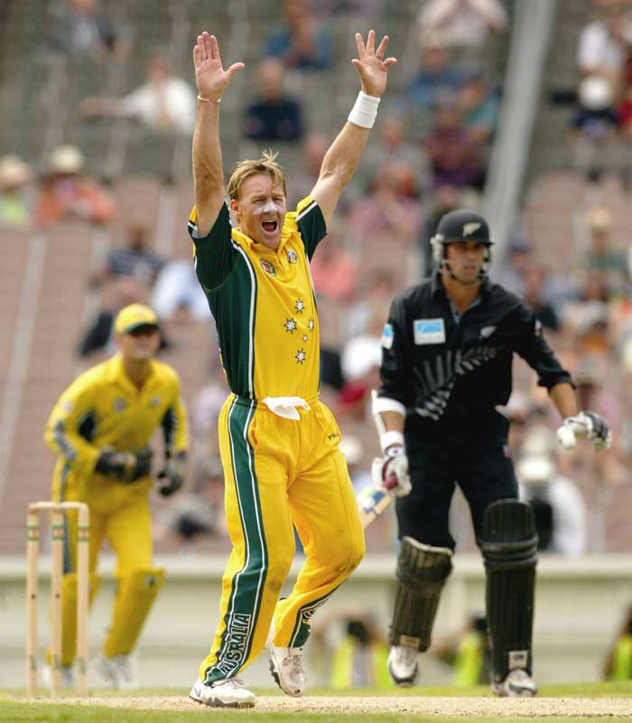 An injury to Jason Gillespie during the 2003 World Cup gave Andy Bichel his golden opportunity. And he rocked the stage with his 7-20 against England. Bichel went onto claim 16 wickets in the tournament but a shoulder injury forced him out of cricket eventually.