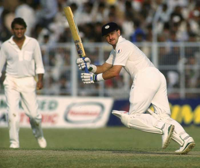 Half-brother of India's current coach, Peter Kirsten's played his only World Cup in 1992 for South Africa. 36 years at the time, Peter scored 410 runs at an average of close to 69. The opening batsman went onto write a biography – In the nick of time- after retiring.