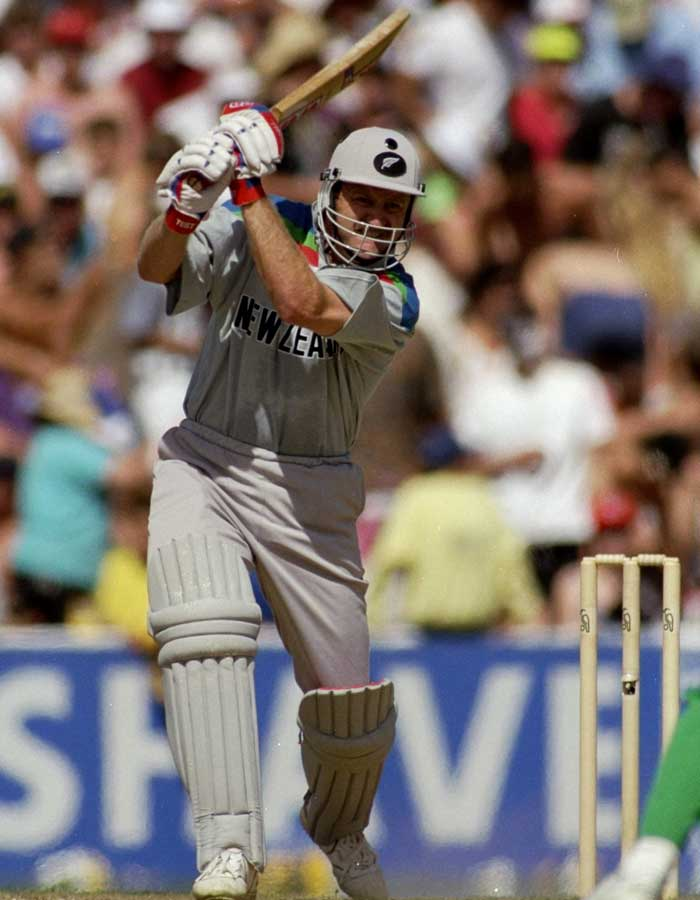 Mark Greatbatch of New Zealand had his only tryst with cricket's biggest tournament in 1992. He slammed 313 runs in seven innings despite missing the opening two matches and making it to the team after John Wright injured himself. His aggressive style as an opener remains legendary in the cricketing circle.