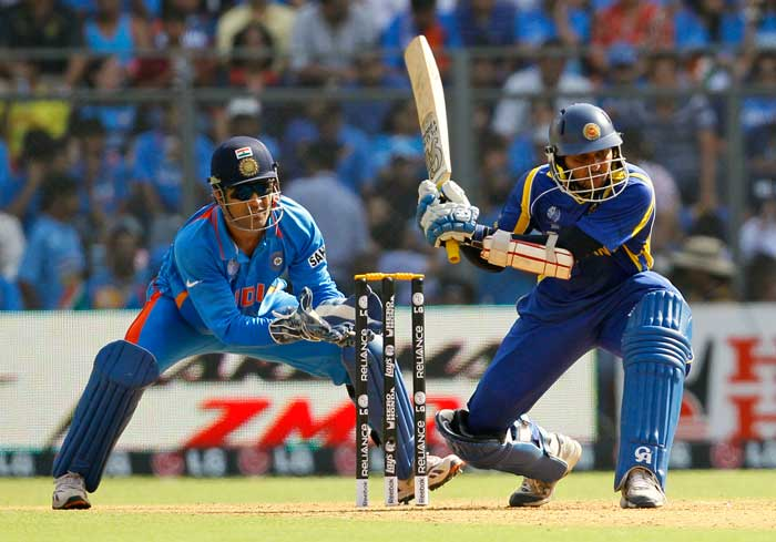 Dilshan completed 500 runs in the World Cup 2011, also extending his lead in the top scorers list. (AP Photo)