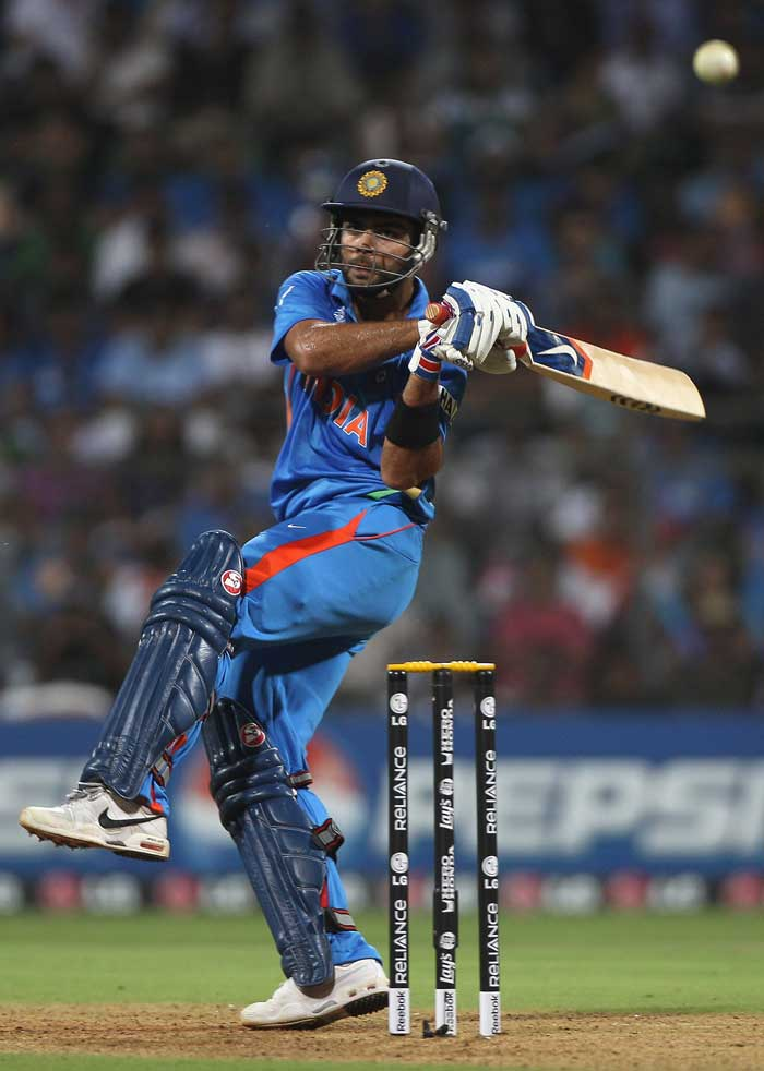 Kohli, who had struggled to regain his form, found his touch with the ball losing its initial swing. (Getty Images)