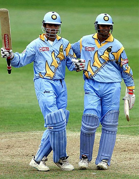 <b>Highest Partnership: Sourav Ganguly and Rahul Dravid - 318 runs</b><br><br> The young Indian duo was at its best against the Sri Lankans as they tore apart the bowling attack to post a record-breaking 2nd-wicket partnership at Taunton. While Ganguly (183) was the aggressor, Dravid (145) played the role of the second fiddle with elan.
