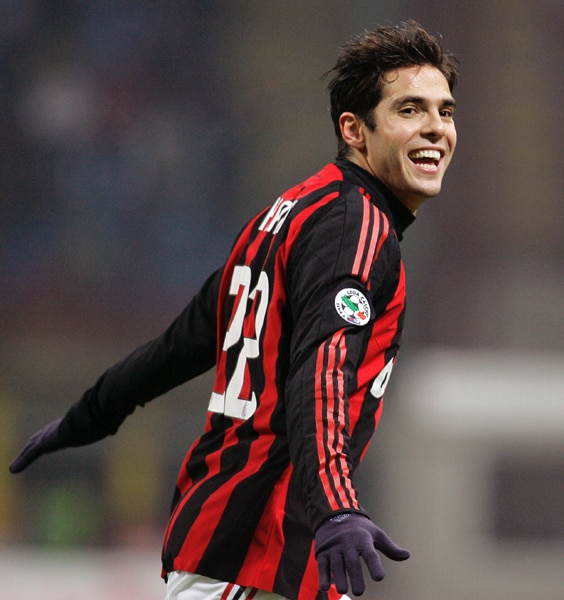"<b>At number 8...</b> <b><br><br>Kaka</b> <b><br><br>Date of Birth: </b> 22 April 1982 <b><br><br>Height: </b> 186 cm <b><br><br>Shirt number: </b> 10 <b><br><br>Position: </b> Midfielder <b><br><br>Country: </b> Brazil <br><br>Team Brazil has got matchmakers in all their players, but it will mainly depend on their Midfielder Kaka in the World Cup. This Real Madrid star ranks as one of the best players in the world. With a capacity to glide almost effortlessly past opponents, provide defence-splitting passes and score consistently from distance, the attacking midfielder won the FIFA World Player of the Year award in 2007. Born in Brasilia in 1982, his family relocated to Sao Paulo when Kaka was young and it was there that he excelled at football and tennis. Kaka's reputation as a leader and decisive playmaker were bolstered dramatically with some impressive showings in South Africa 2010 qualifying and also at the FIFA Confederations Cup South Africa 2009, where he scooped the adidas Golden Ball award and man of the match honours for the final against USA. (AP Photo) <br><br><a href=""http://www.ndtv.com/convergence/ndtv/new/forums/iframe/forums_common_detail.aspx?trdid=3455"" class=""text2_link"" target=""_blank""><b>Do you agree with this list? Send us your own</B></a>"