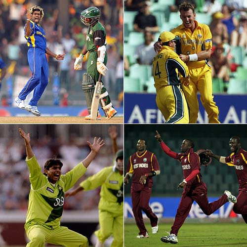 <b>World Cup hat-tricks</b><br><br>Sri Lankan pacer Lasith Malinga may have become the first bowler in the history of the World Cup tournaments to have claimed two hat-tricks, but he certainly is not the only one to have three-for-three. CricketNDTV takes a quick look at the bowlers who have taken hat-tricks in the mega-event.