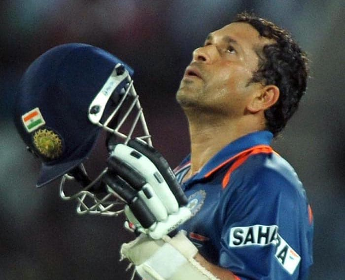 He's been India's ultimate saviour for the last 21 years. Sitting on the pinnacle of cricket records sans one achievement - the World Cup win, Sachin is all motivated to do it for India.
