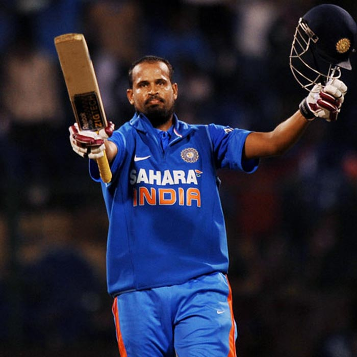 Yusuf Pathan will be a key man for Indian in the World Cup. His ability to clear the ropes at will and more than capable off-spin gives India the option of a genuine all-rounder.