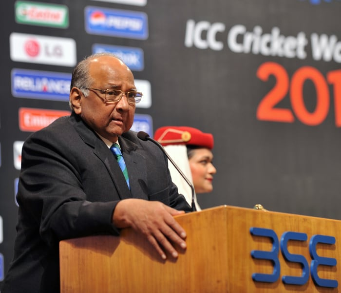 Sharad Pawar speaks at the occasion. (AFP Photo)