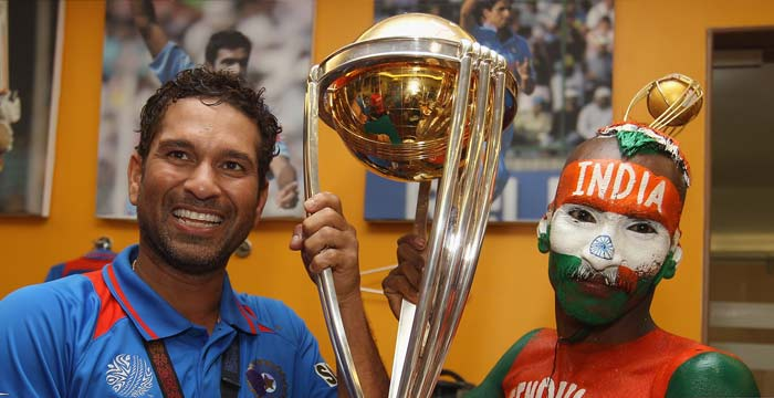Well done Dhoni and team. Congrats to Sachin for his dream came true<br/><br/>Somu