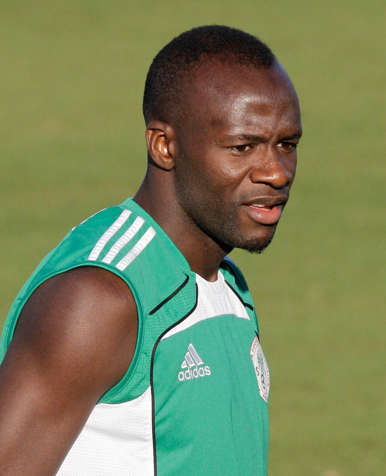 """This one did not come from the football field. The Nigerians were not only out of sorts with their game, but it seems lack of imagination was getting rubbed on to the staff as well.<br><br> As news broke about their player Sani Kaita receiving death threats for getting a red card in the match against Greece which saw the Nigerians (who were leading 1-0) eventually lose the match 2-1, their press officer gave a ridiculous explanation.<br><br> Wanting to say that the threats should not be taken seriously, the 'man' said, I go kill you in our language means i am not happy with you.""""<br><br> Now that has to be bizarre."""