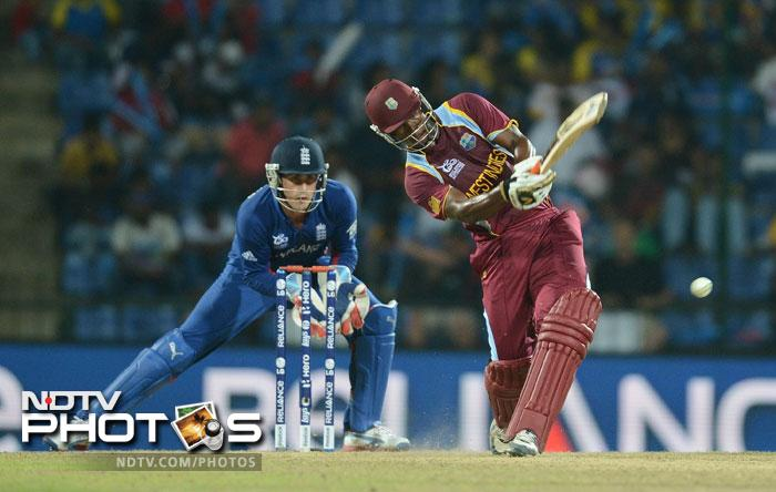 Charles Johnson started off slowly, but soon got his eye in and was smacking the ball to all corners of the ground. Johnson's 84 came off just 54 balls which included 10 fours and 3 sixes which set up the West Indies for a big total.